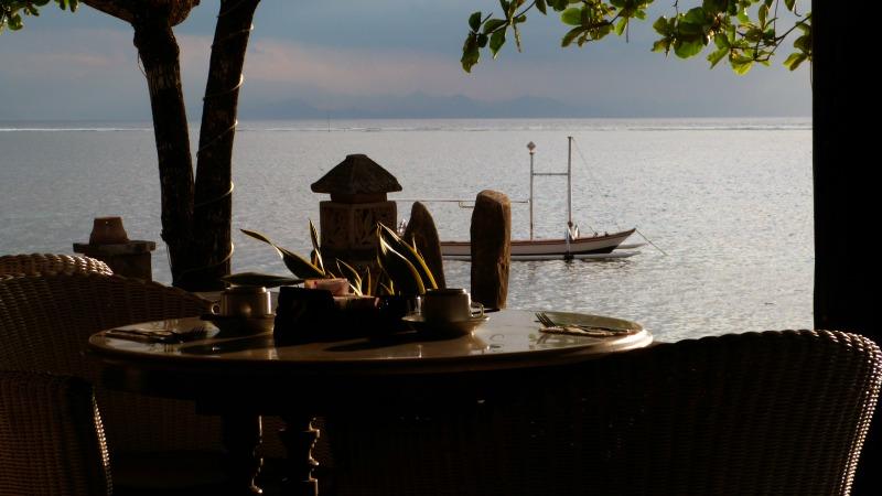 Hotel Restaurant Overlooking the Sea